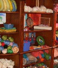 Geodi di feltro e palline di feltro coi bambini 2