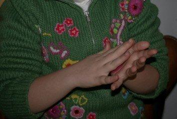Geodi di feltro e palline di feltro coi bambini 7