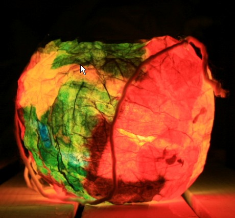 Lanterna di cartapesta