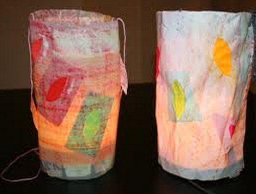 Lanterne facili, veloci, riciclate 1
