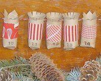 Natale Calendari dell'Avvento fai da te - 70 e più idee - 12