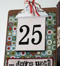 Natale Calendari dell'Avvento fai da te - 70 e più idee - 18