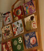 Natale Calendari dell'Avvento fai da te - 70 e più idee - 19