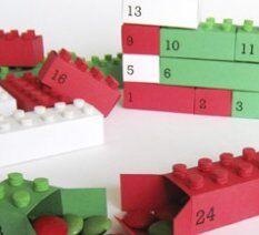 Natale Calendari dell'Avvento fai da te - 70 e più idee - 20