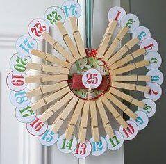 Natale Calendari dell'Avvento fai da te - 70 e più idee - 23