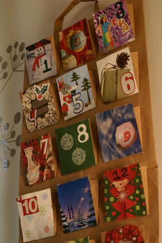 Natale Calendari dell'Avvento fai da te - 70 e più idee -30