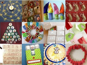 Advent calendars DIY: 70 and more ideas - first part