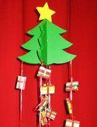 Natale Calendari dell'Avvento fai da te - 70 e più idee - 31