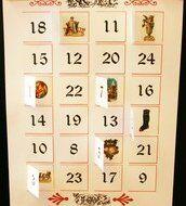Natale Calendari dell'Avvento fai da te - 70 e più idee - 41
