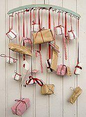 Natale Calendari dell'Avvento fai da te - 70 e più idee - 42