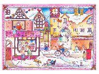 Natale Calendari dell'Avvento fai da te - 70 e più idee - 44