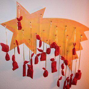 Natale Calendari dell'Avvento fai da te - 70 e più idee - 49