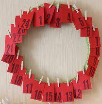 Natale Calendari dell'Avvento fai da te - 70 e più idee - 5