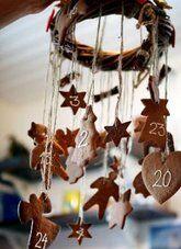 Natale Calendari dell'Avvento fai da te - 70 e più idee - 51