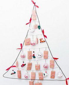 Natale Calendari dell'Avvento fai da te - 70 e più idee - 52