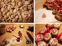 Natale Calendari dell'Avvento fai da te - 70 e più idee - 59