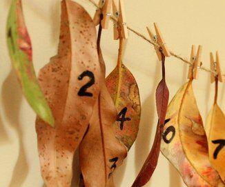 Natale Calendari dell'Avvento fai da te - 70 e più idee - 65