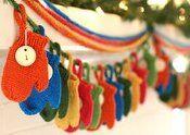 Natale Calendari dell'Avvento fai da te - 70 e più idee - 68