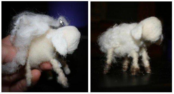 Pecorelle di lana cardata 16