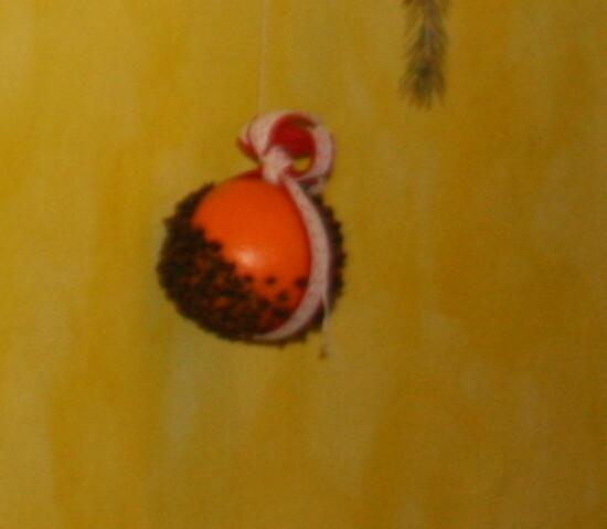 Pomander - Arance coi chiodi di garofano 4