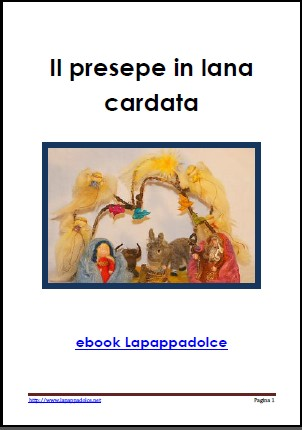 Presepe in lana cardata – ebook