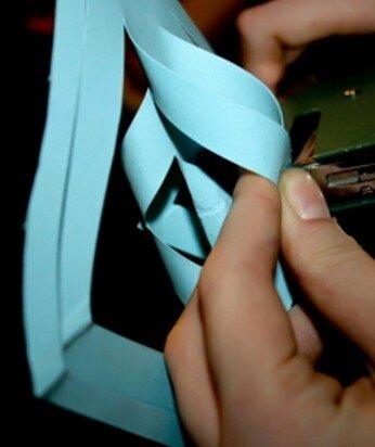 Stella tridimensionale di carta 11
