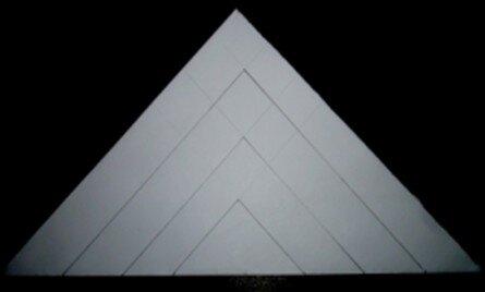 Stella tridimensionale di carta 5