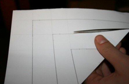 Stella tridimensionale di carta 6