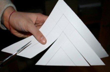 Stella tridimensionale di carta 7