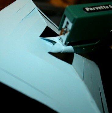 Stella tridimensionale di carta 9