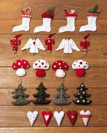 decorazioni natalizie fai da te: 50 idee per decorare la casa e l
