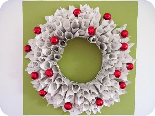 101 progetti per ghirlande natalizie fai da te la pappadolce for Ghirlande di carta