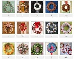101 progetti per ghirlande natalizie fai da te