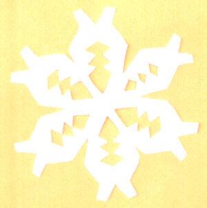 Natale 60 e pi modelli di stelle natalizie la pappadolce for How to make a real paper snowflake