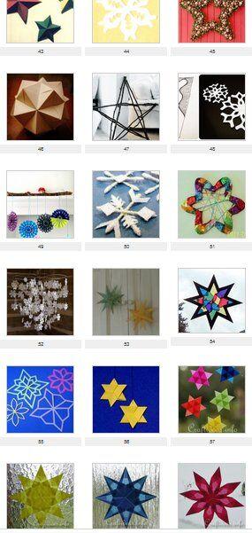 Natale: 60 e più modelli di stelle natalizie