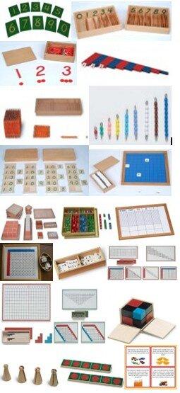 materiali matematica tre sei anni