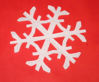 Fiocchi Di Neve Di Carta Facili : Tutorial fiocchi di neve di carta lapappadolce