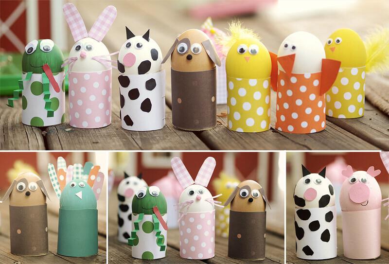 Idee Lavoretti Pasquali Per Bambini  Lavoretti per pasqua uova decorate e  più progetti