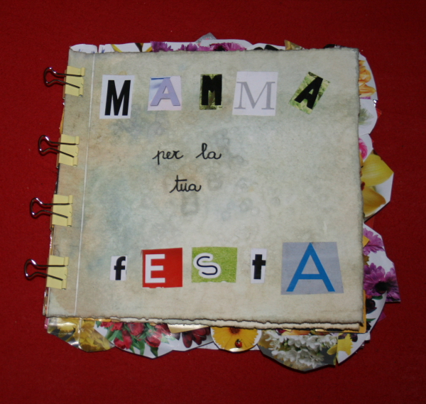 Festa della mamma - ebook - Libretto d'auguri illustrato con tisane, tè, sale grosso e collage...