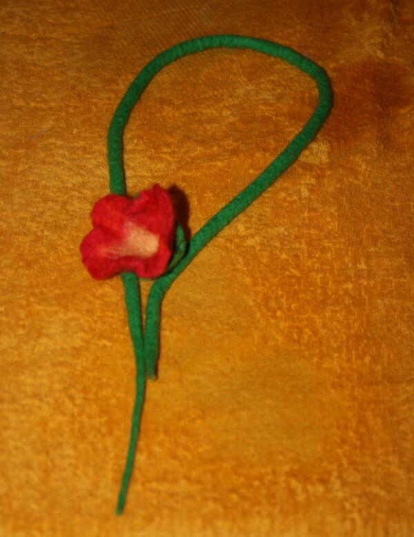 Tutorial fiori in feltro