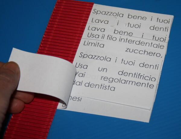 Igiene orale: costruiamo un libro – spazzolino