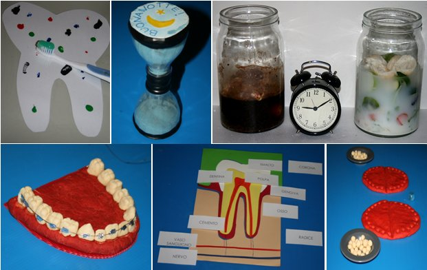 Igiene orale – vita pratica Montessori