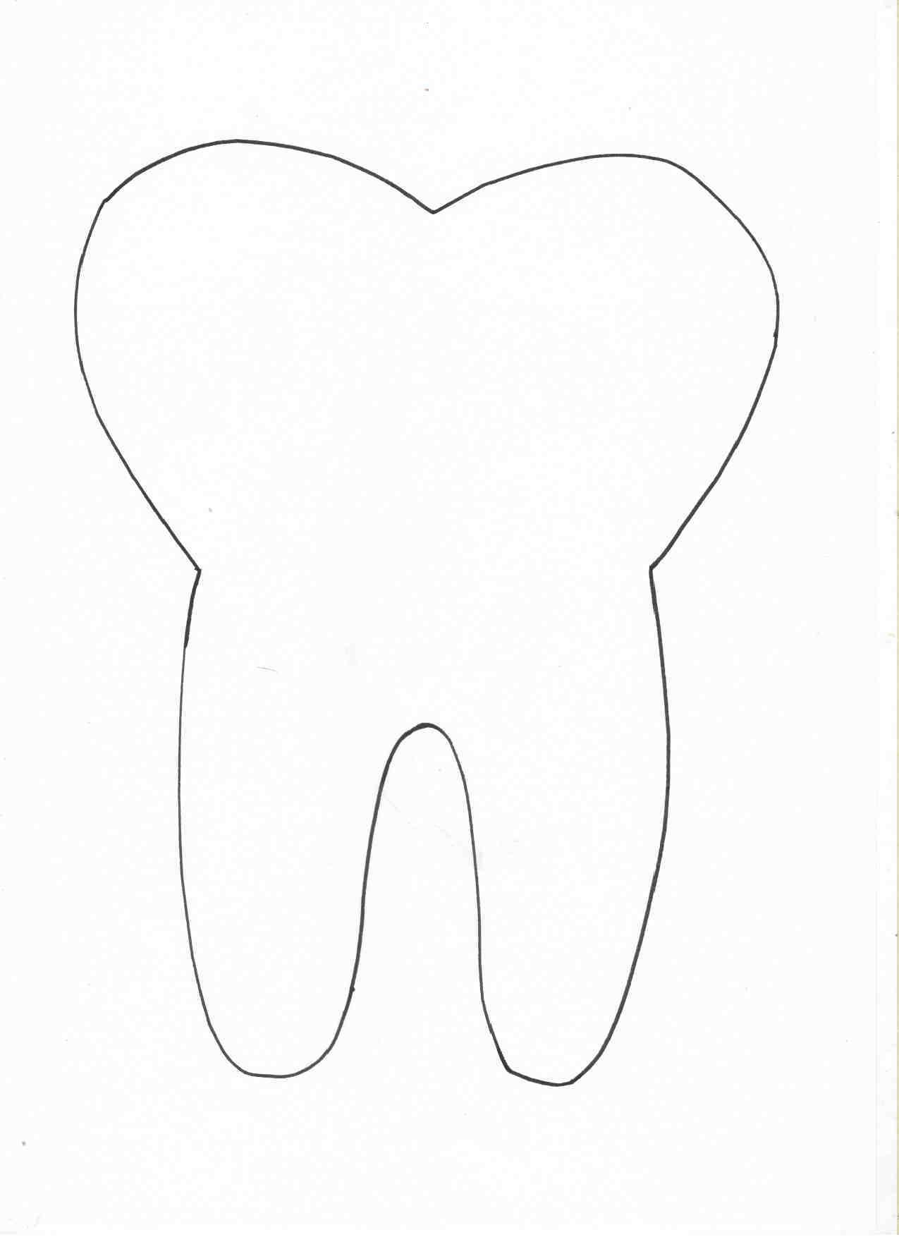 Igiene orale - pittura con lo spazzolino da denti