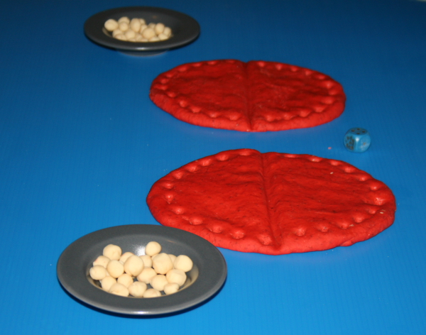 Igiene orale: un gioco matematico col play dough