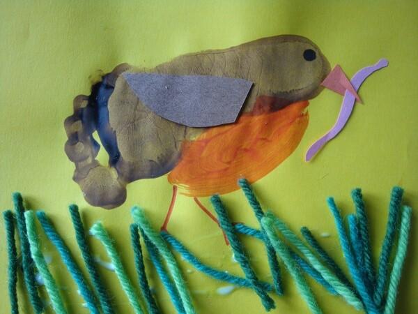 lavoretti per la primavera - uccellini
