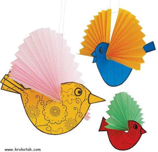 Lavoretti per la primavera uccellini – 100 e più progetti