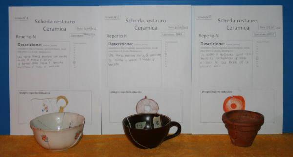 Guest post: archeologia per bambini RESTAURO DELLA CERAMICA
