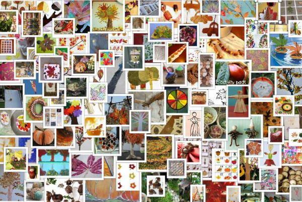 Molto lavoretti per l'autunno: 110 e più progetti da realizzare coi bambini CI69