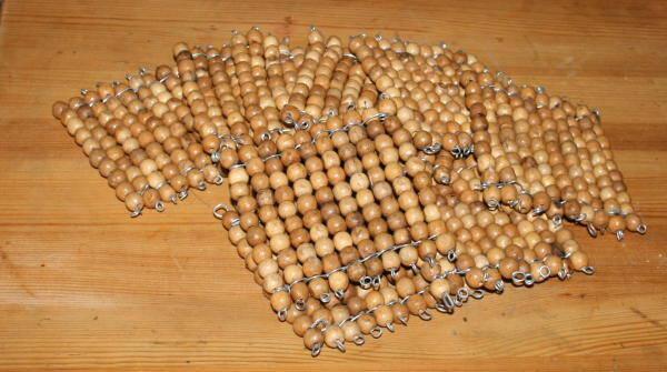 Perle dorate Montessori presentazione e tutorial per costruirle in proprio 25