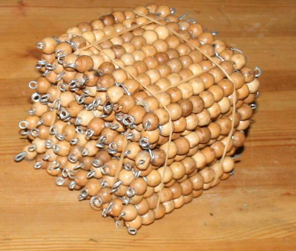 Perle dorate Montessori presentazione e tutorial per costruirle in proprio 28